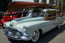 1951 Buick Estate Wagon painted in the original Barton Grey paint color as it came from the factory