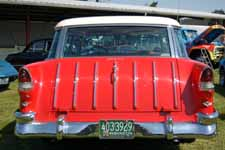 1955 Chevrolet Bel Air Nomad Wagon Tail Gate With Chrome Spear Trim