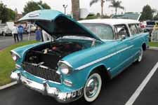 Very Stock and Correct 1955 Chevy Nomad Station Wagon
