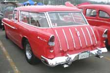 1955 Chevy Nomad Wagon Painted Gypsy Red-596 Upper and Lower