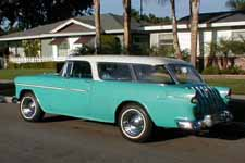 Un-Restored 1955 Chevy Nomad Wagon With Thin Whitewall Tires