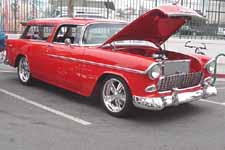 1955 Chevy Bel Air Nomad Wagon Awesome Custom Job