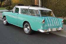 1955 Chevrolet Nomad Wagon Painted Original Regal Turquoise #598 Color
