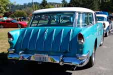 1955 Chevy Nomad Wagon Painted in Original Skyline Blue #588 Paint Color