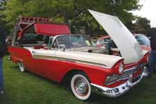 1957 Ford Fairlane 500 With Hood The Hinges at the Front