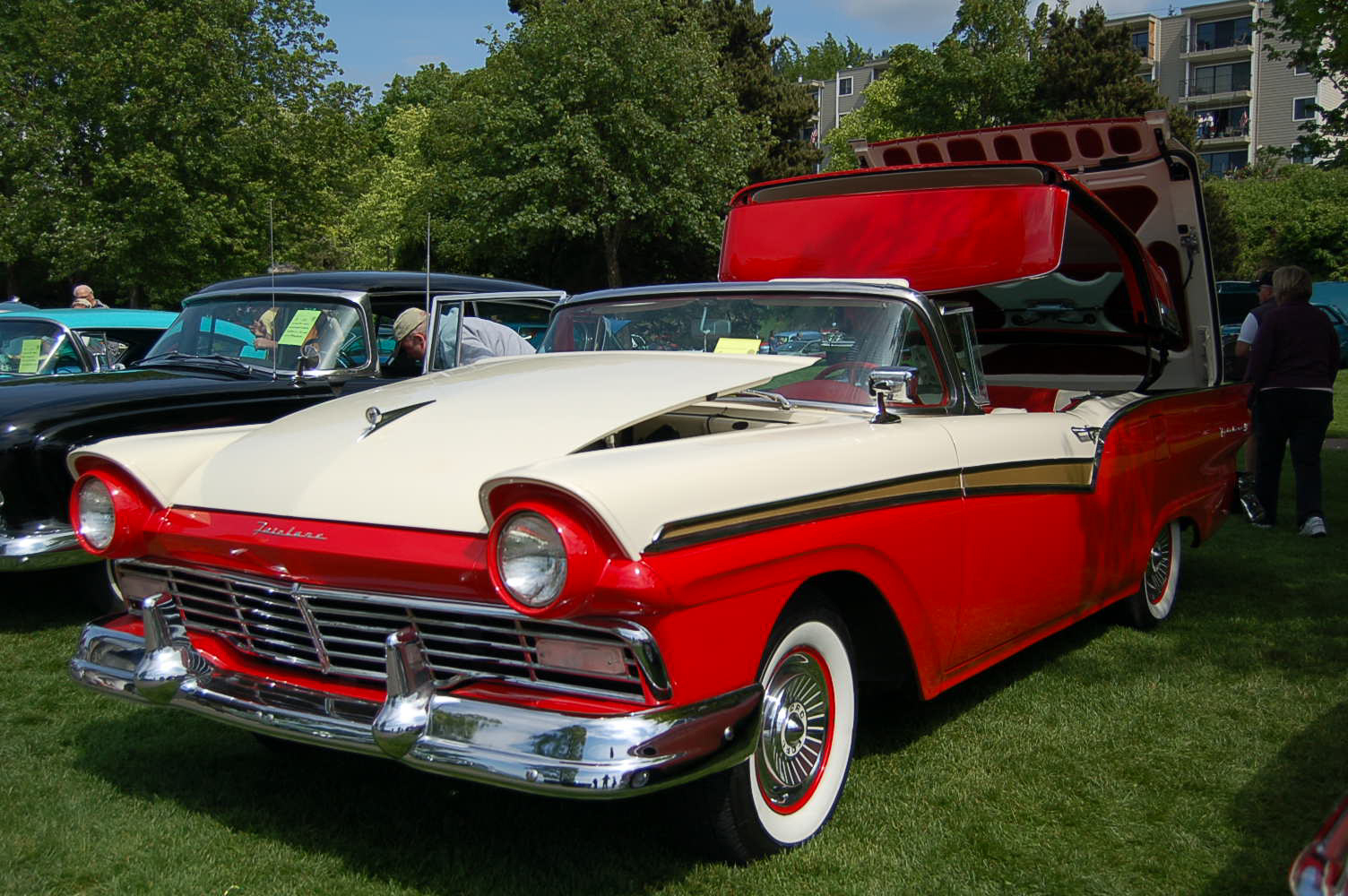 1957 ford fairlane retractable restored to original specifications