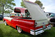 Flip Top on 1957 Ford Fairlane 500 Skyliner Retractable Hard-top