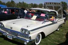 Vintage 1959 Ford Fairlane 500 Skyliner Retractable Hardtop Convertible