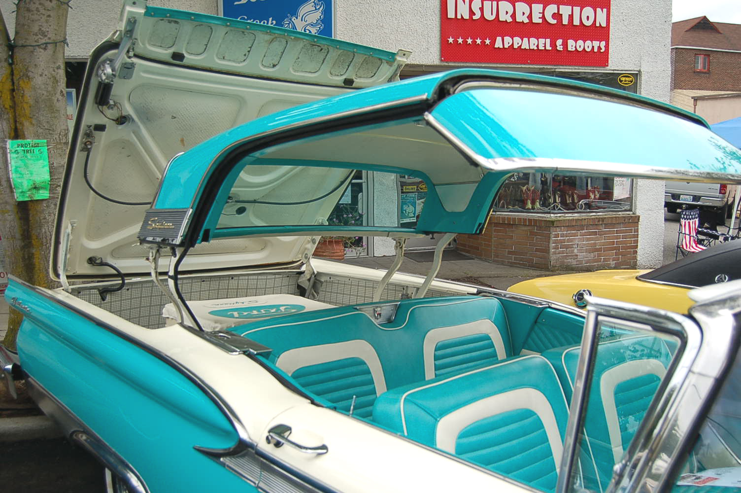 Vintage 1959 Ford Galaxie Retractable Convertible Top Mechanism