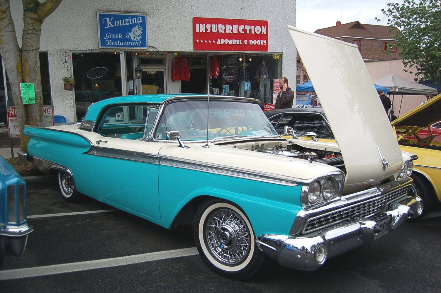 1959 ford galaxie skyliner retractable hardtop photos and specs from rh madchrome com 1951 Mercury Wiring Diagram 1965 Thunderbird Wiring Diagram