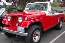 Beautifully restored 1968 Jeepster Commando Convertible