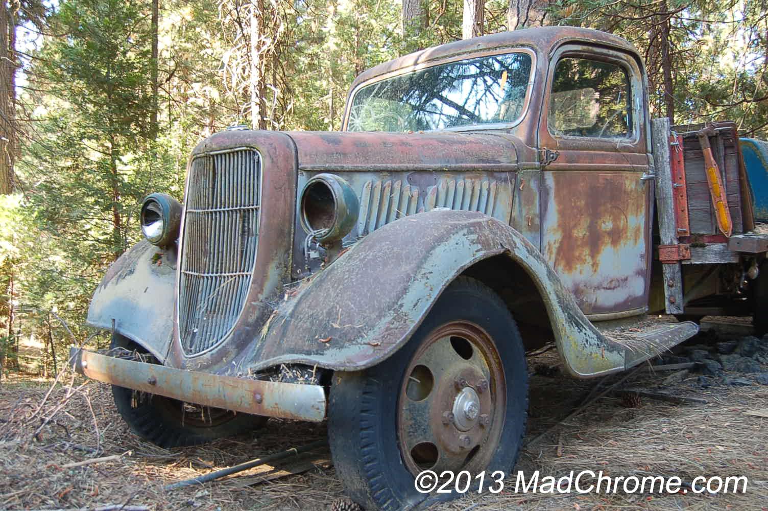 Antique Truck Salvage Yards